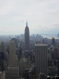Vue de Manhattan et de l'Empire State building.